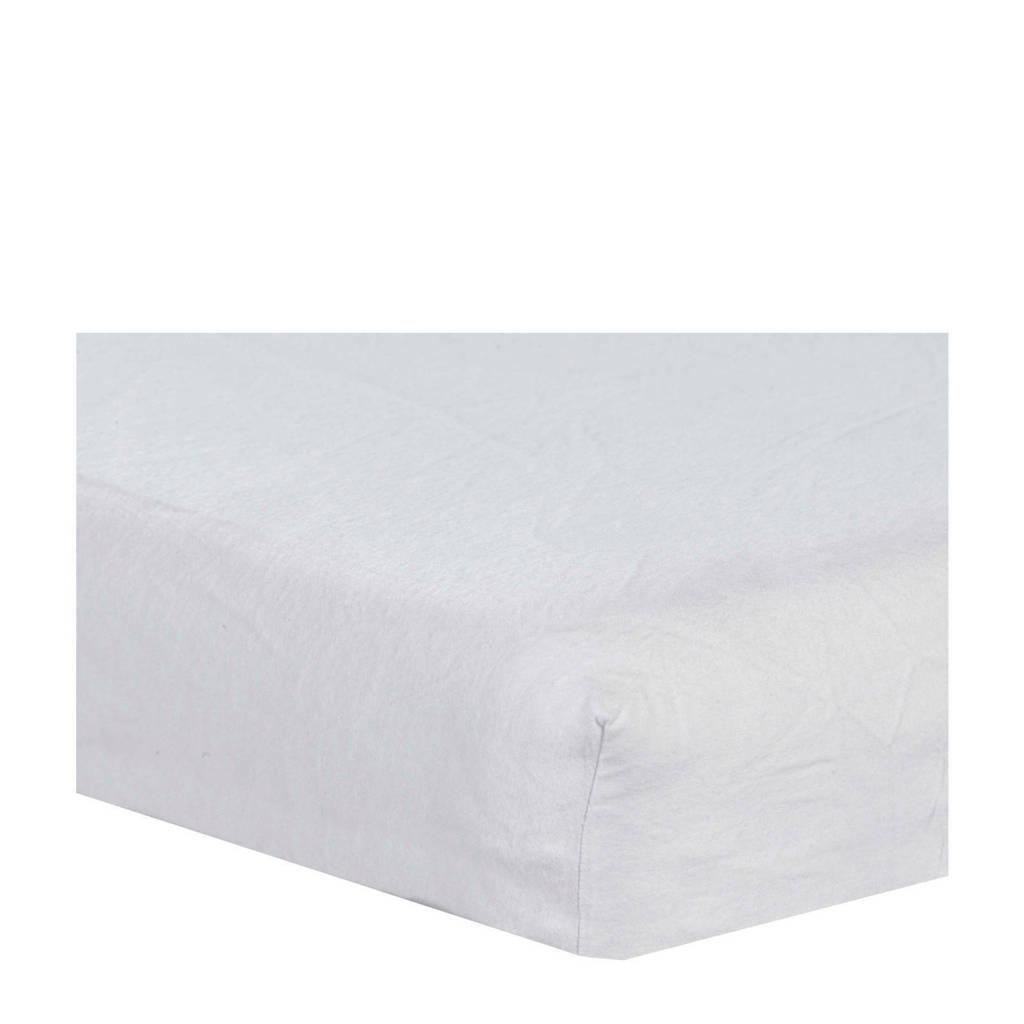 ABZ katoenen molton peuter matrasbeschermer 70x150 cm, Wit