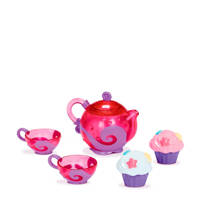 Munchkin thee en cupcakeservies voor in bad, Roze