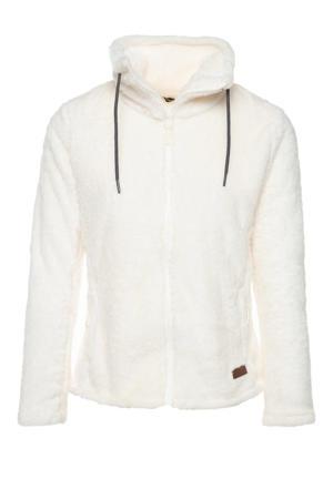 fleece vest wit