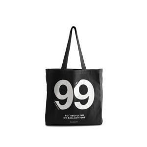 shopper Isidora '99 Problems' zwart