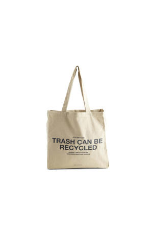shopper Isidora 'Trash' beige