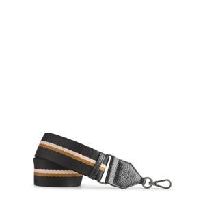 schouderband Finley zwart/bruin/roze