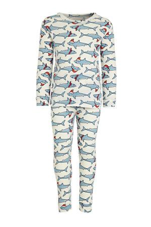 pyjama haaien lichtblauw