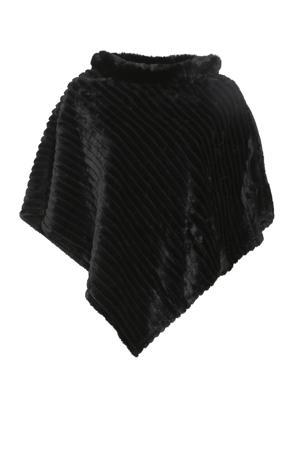 poncho zwart