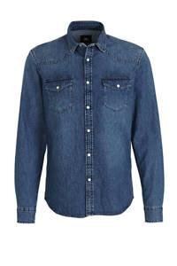 C&A Clockhouse regular fit denim overhemd blauw, Blauw