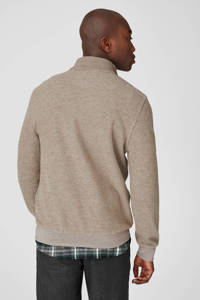 C&A gemêleerde regular fit polo camel, Camel
