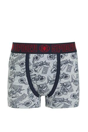 boxershort Spiderman - set van 2 donkerblauw/rood