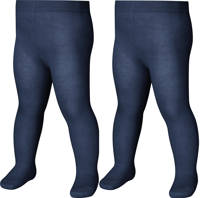 Playshoes maillot - set van 2 donkerblauw, Donkerblauw/lichtblauw