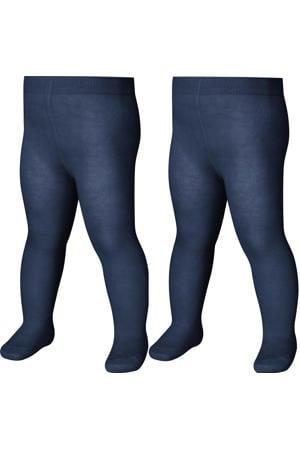 maillot - set van 2 donkerblauw