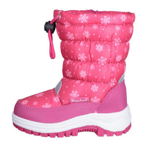 Outer Space  snowboots sneeuwvlokjes roze
