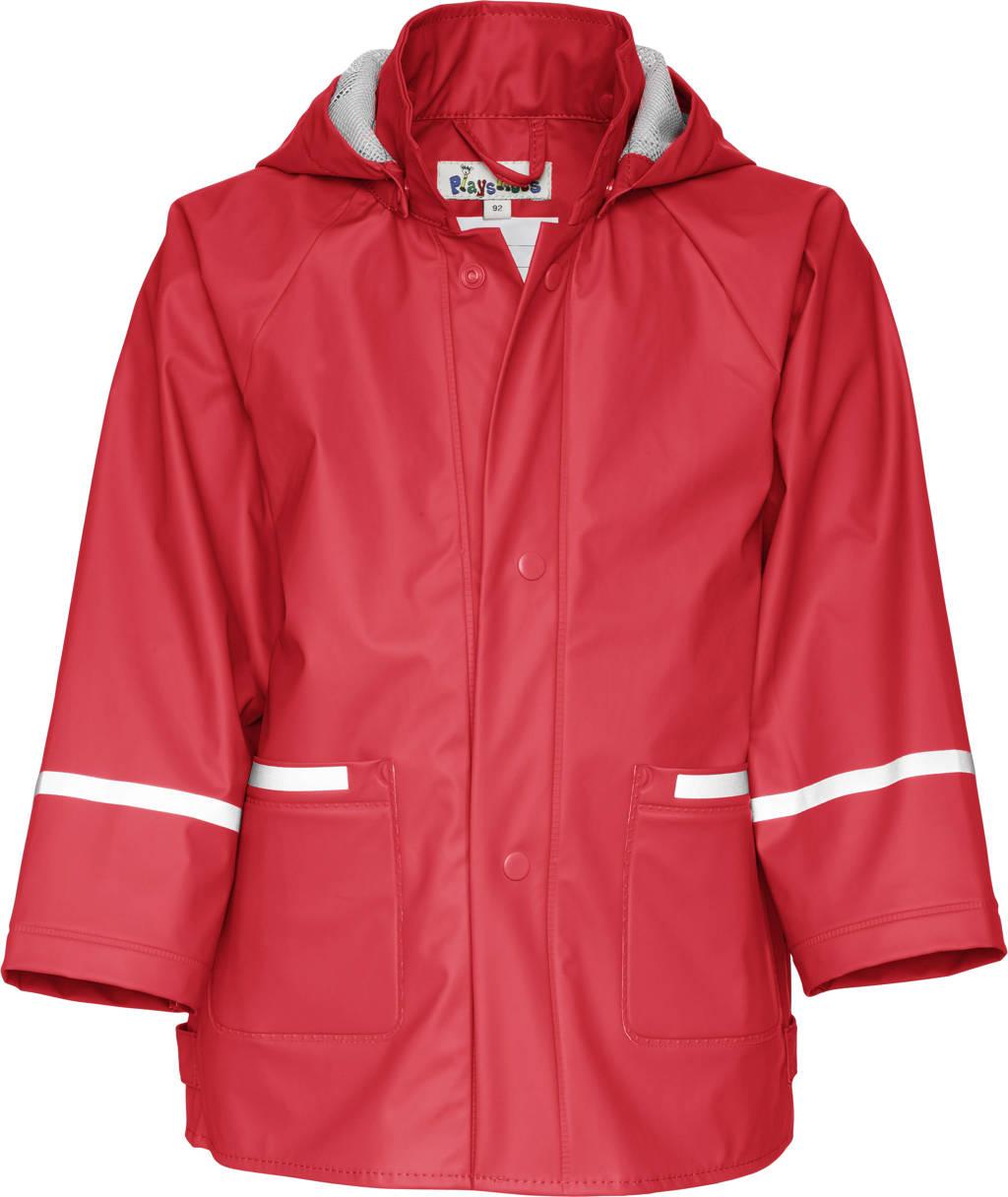 Playshoes regenjas rood, Rood