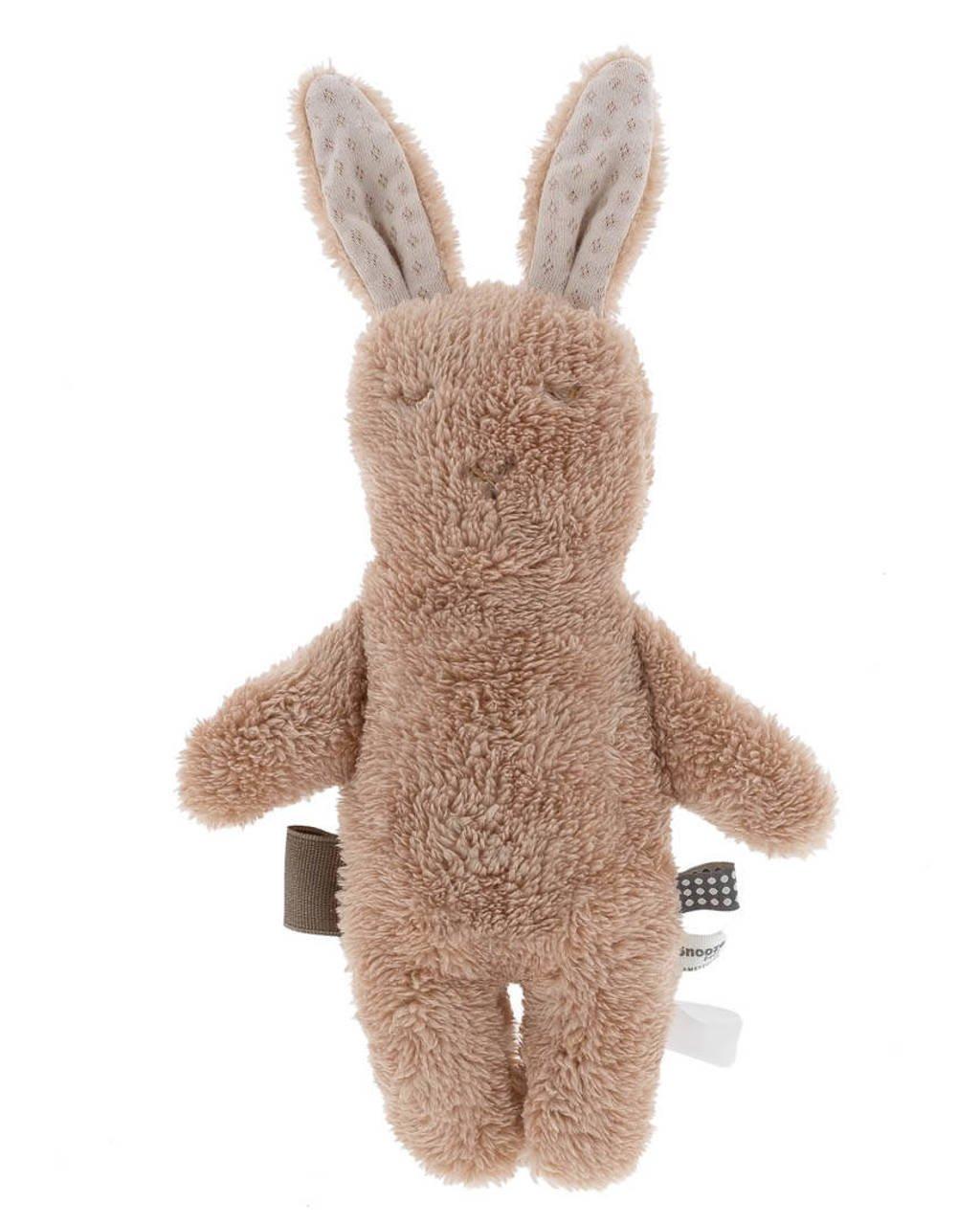 Snoozebaby konijn knuffel 30 cm, Roest