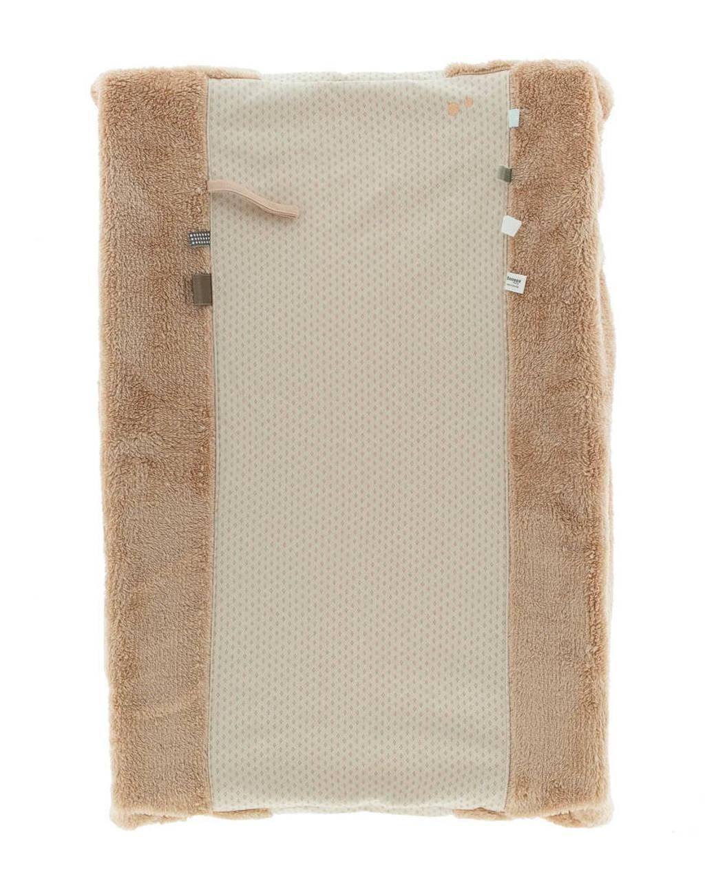 Snoozebaby aankleedkussenhoes 45x70 cm Milky Rust, Beige