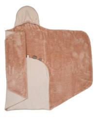 Snoozebaby wikkeldeken 90x110 cm Milky Rust, Roest