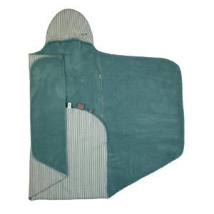 wikkeldeken 90x110 cm Smokey Green
