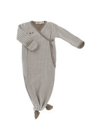 Snoozebaby baby knoopslaapzak 3-6 mnd Warm Brown, Bruin/lichtbruin, 3-6 maand