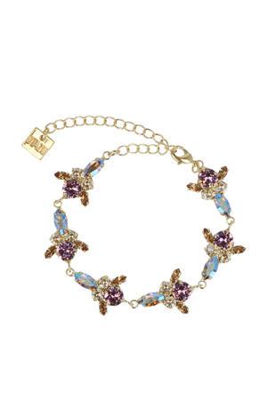 armband met Swarovski kristallen Alles is Liefde