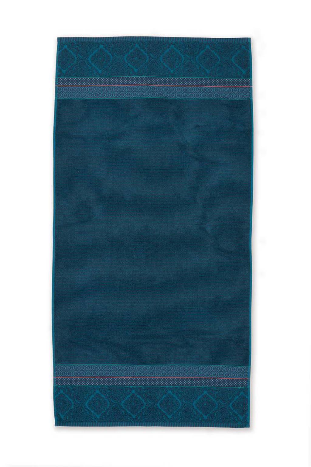 Pip Studio badlaken Soft Zellige (140x70 cm), Donkerblauw