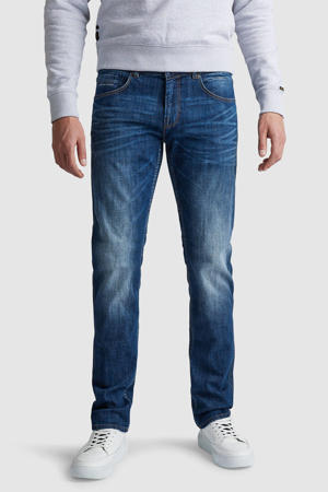 straight fit jeans Nightflight donkerblauw