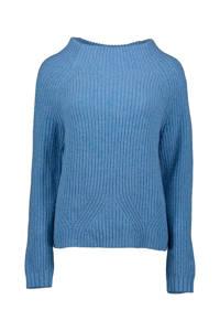 Re-Draft gebreide trui blauw, Blauw