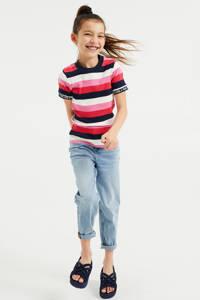 WE Fashion gestreept T-shirt multi color, Multi color
