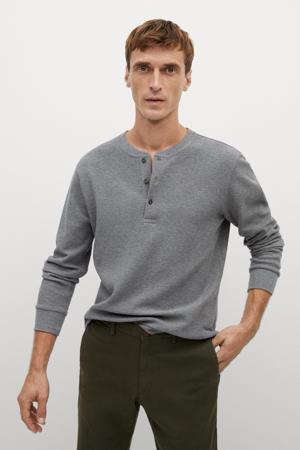 longsleeve grijs melange