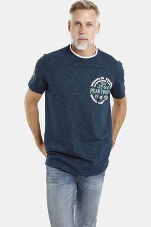 T-shirt Plus Size met printopdruk Plus Size zwart