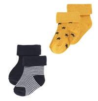 Noppies newborn baby sokken Guzz - set van 2 multi color, Multi color
