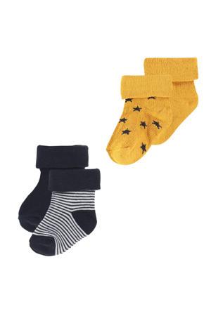 newborn baby sokken Guzz - set van 2 multi color