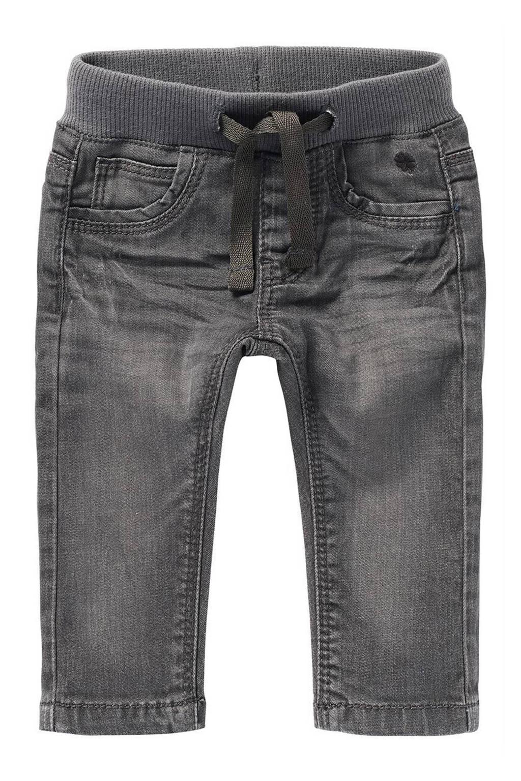 Noppies baby regular fit jeans Navoi grijs stonewashed, Grijs stonewashed