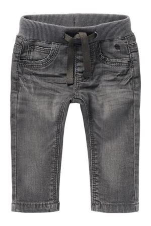 baby regular fit jeans Navoi grijs stonewashed