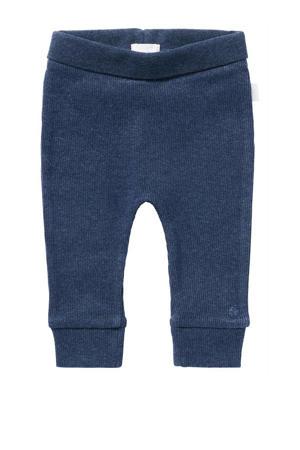 baby broek Naura met biologisch katoen donkerblauw