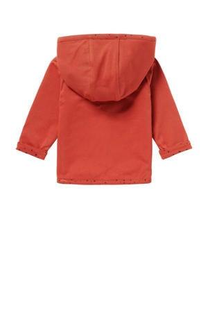 baby reversible vest Bonny roodbruin