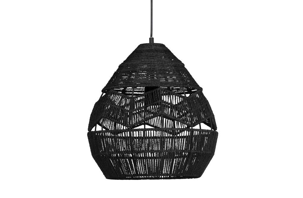 WOOOD Exclusive Hanglamp Adelaide, Zwart, 37