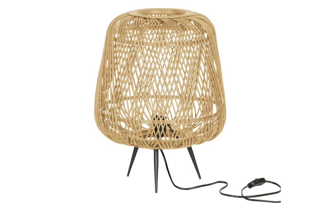 WOOOD Exclusive Tafellamp Moza, Bruin