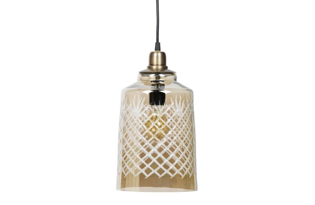 BePureHome Hanglamp Engrave, Antique Brass