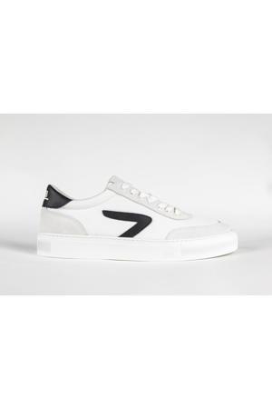 Break Z  suède sneakers wit/zwart