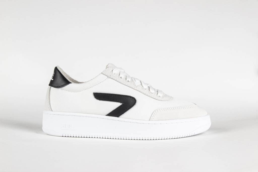 HUB Baseline-W  sneakers wit/zwart, Wit/zwart