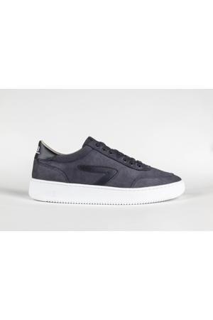 Baseline-Z  nubuck sneakers donkerblauw