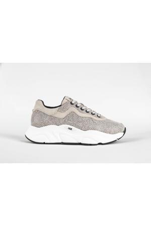 Rock  suède chunky sneakers beige