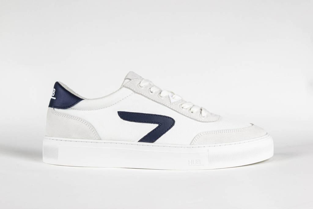 HUB Break Z  sneakers wit/blauw, Wit/blauw