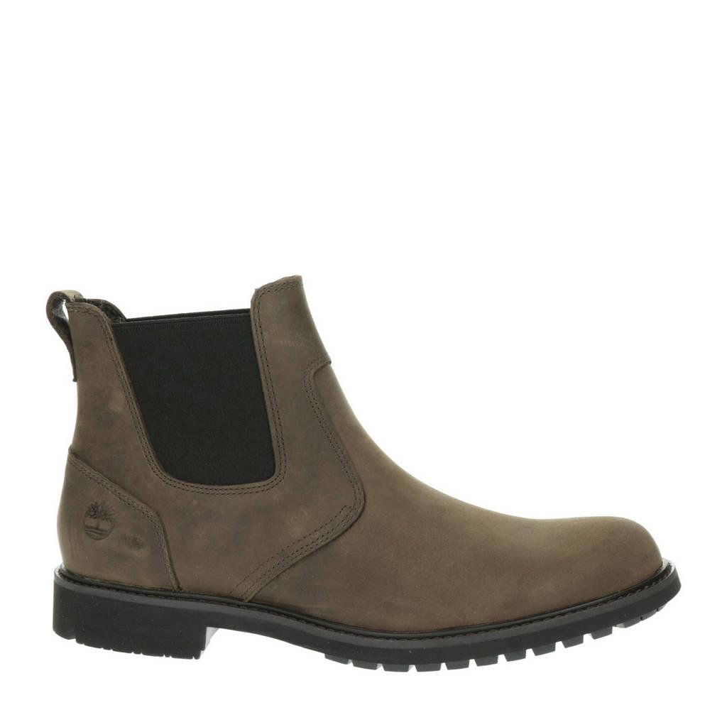 Timberland Stormbuck  nubuck chelsea boots bruin, Bruin