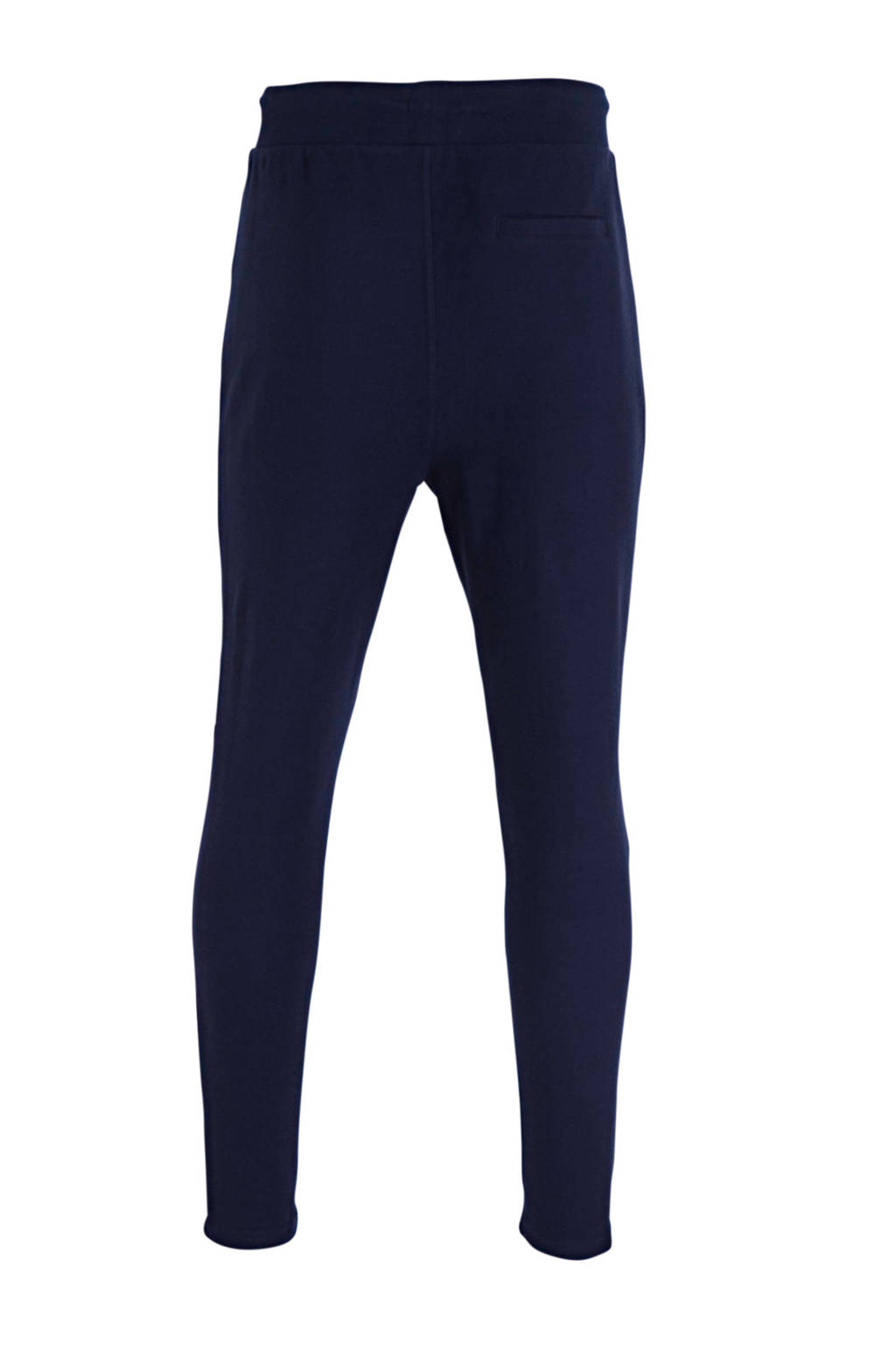 C&A Angelo Litrico slim fit joggingbroek donkerblauw, Donkerblauw