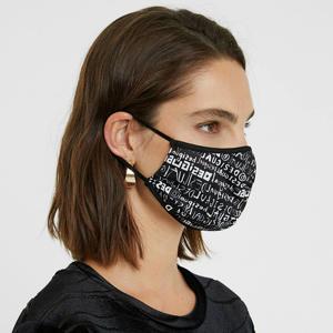reversible mondkapje zwart