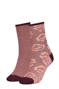 Tommy Hilfiger sokken - set van 2 rood, Rood