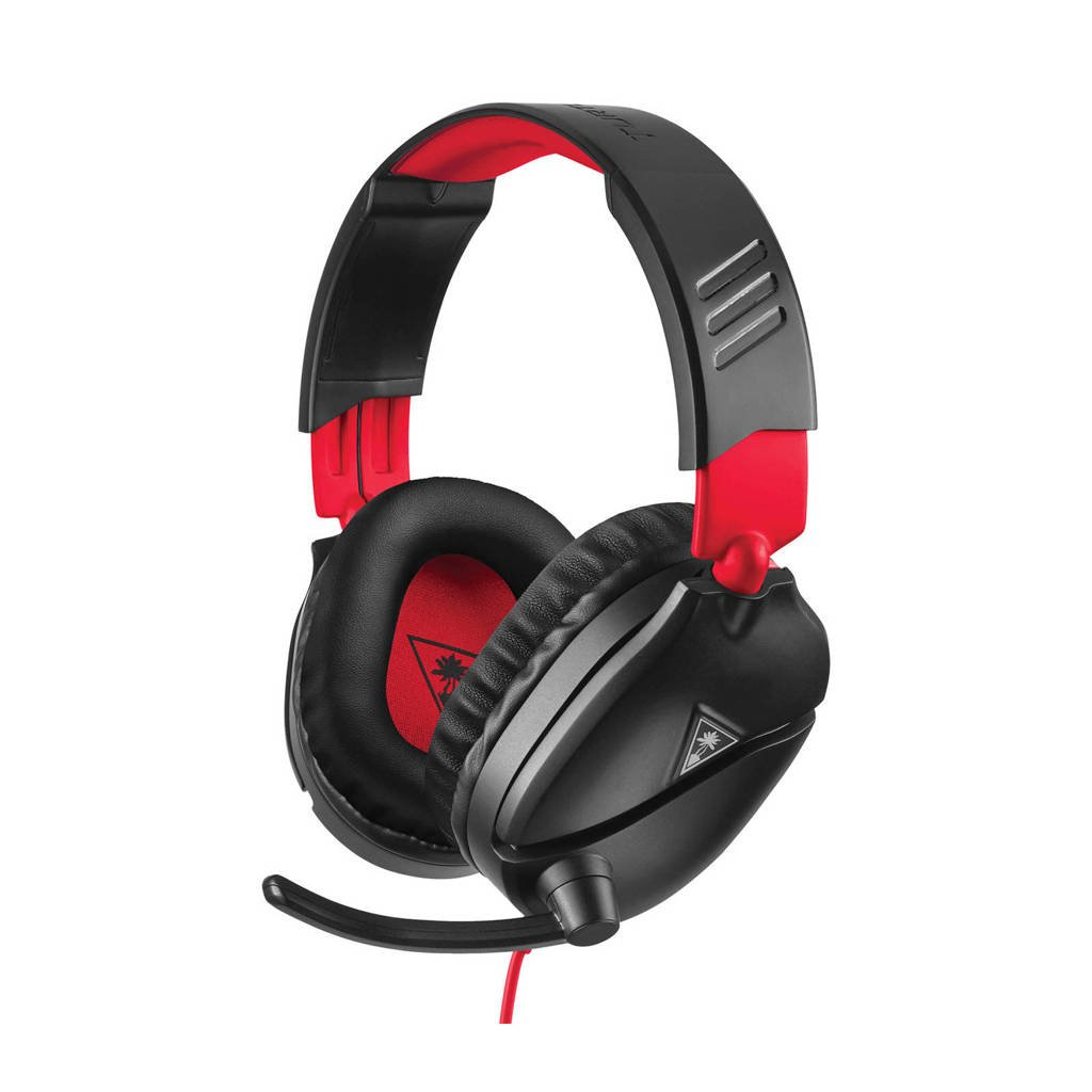 Turtle Beach  Ear Force Recon 70N gaming headset (Nintendo Switch), Zwart/rood