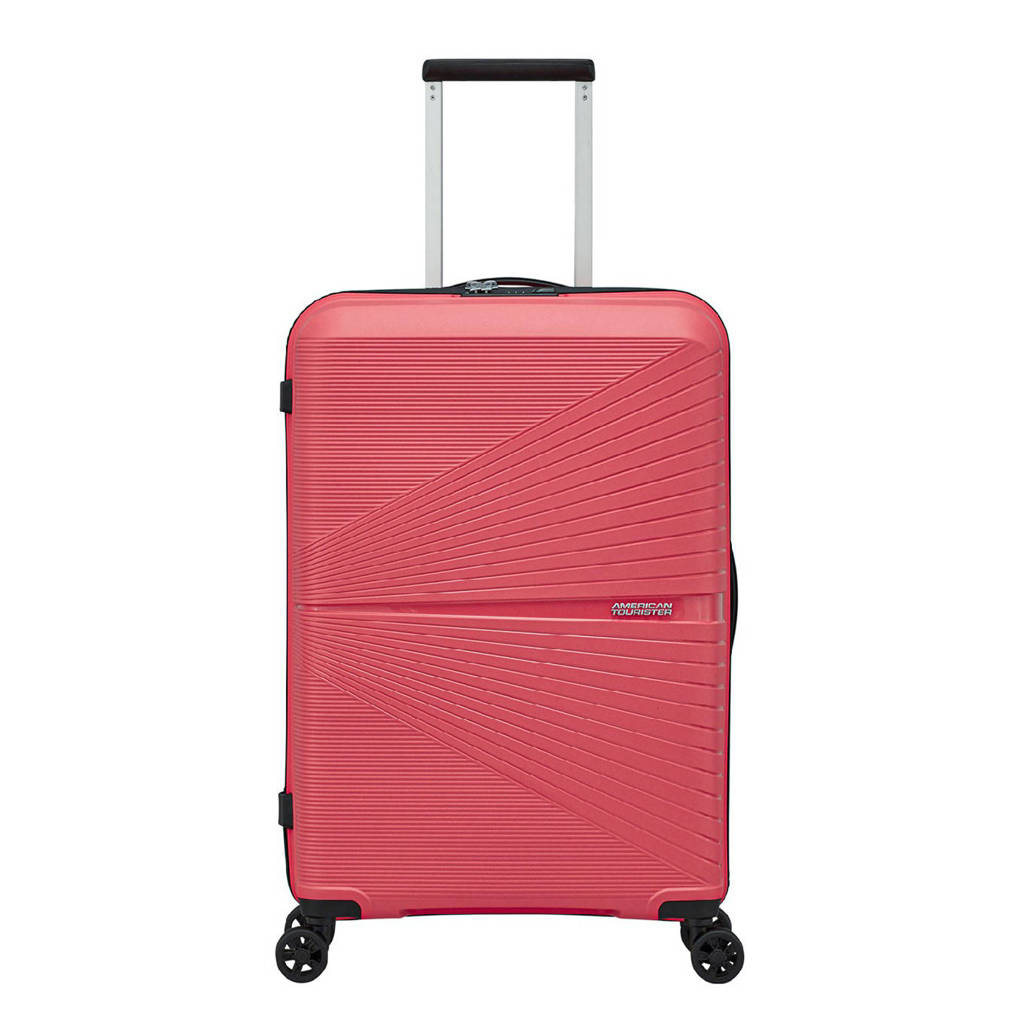 American Tourister  trolley Airconic Spinner 67 cm. roze, Roze