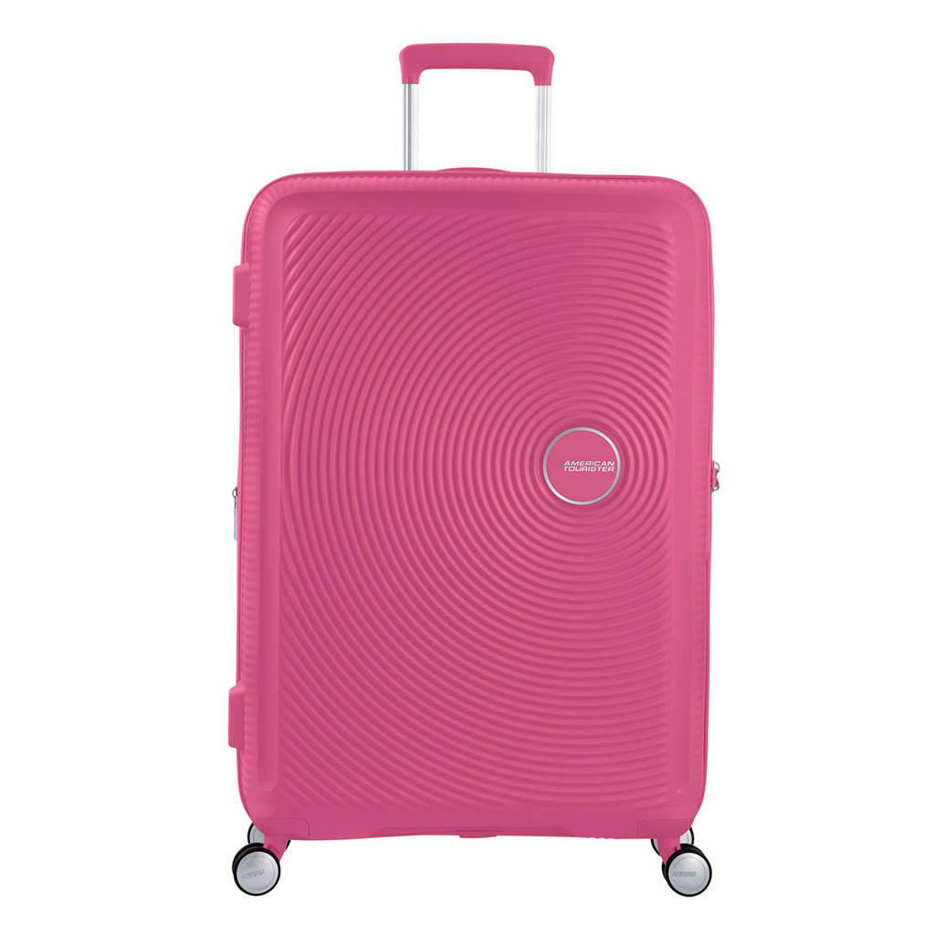 American Tourister  trolley Soundbox Spinner 77 cm. Expandable fuchsia, Paars