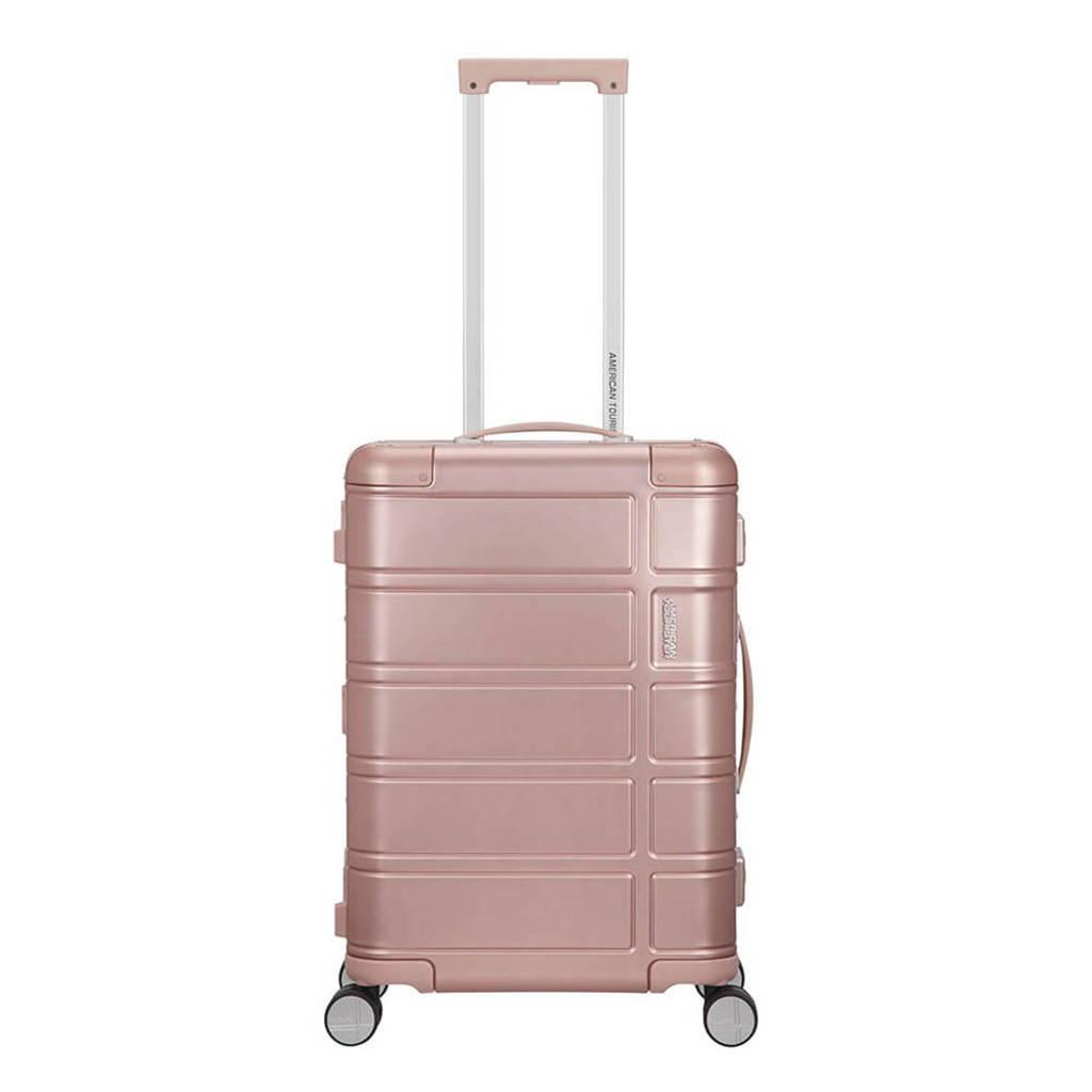 American Tourister  trolley Alumo Spinner 55 cm. roze, Rose