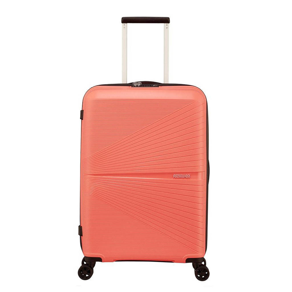 American Tourister  trolley Airconic Spinner 67 cm. koraalrood, Oranje